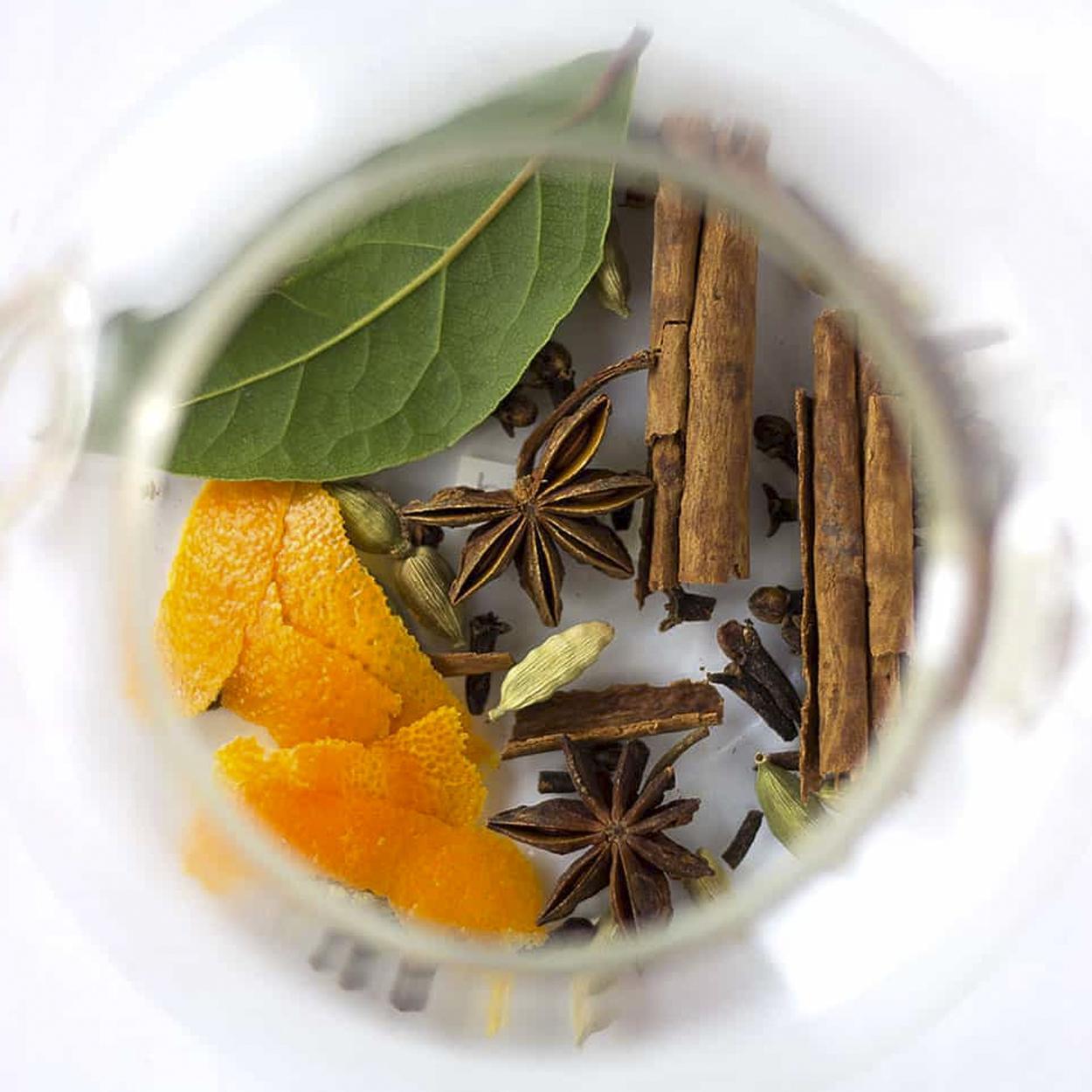 receita de chá de louro com cravo