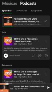 Imagem podcast BBB 21