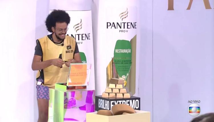 João líder no BBB21