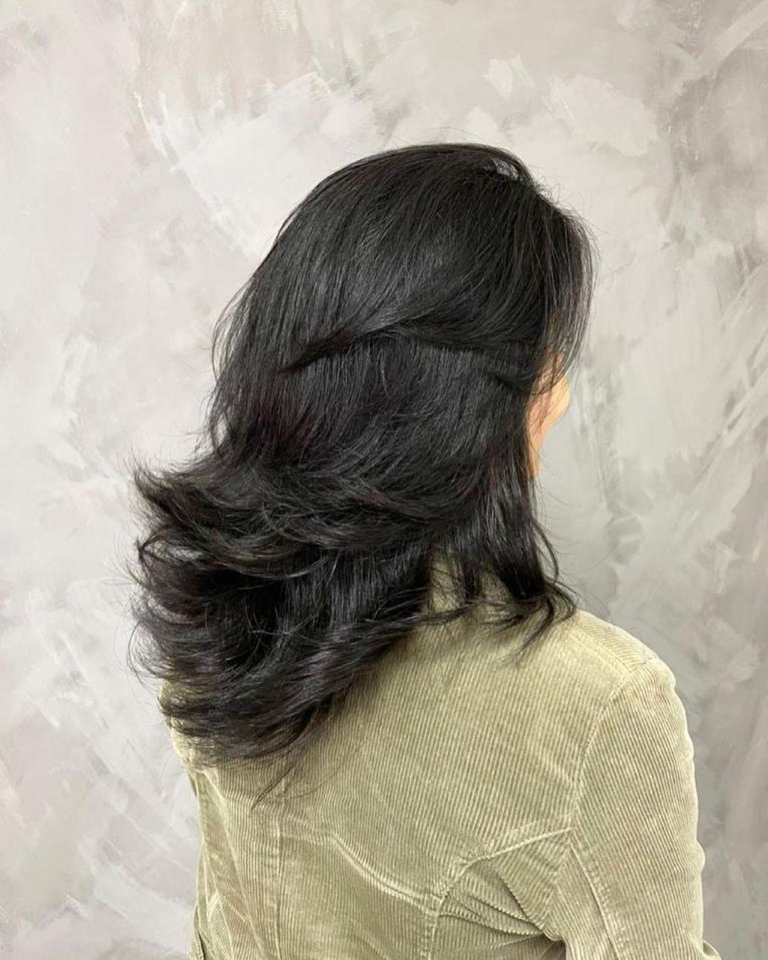 Medium haircut 15