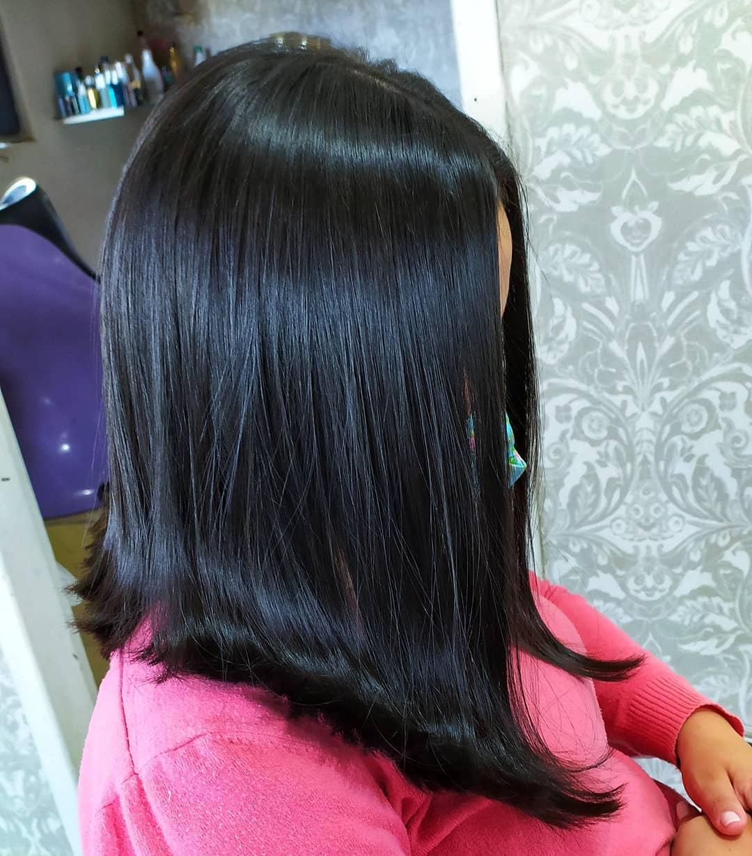 Medium haircut 8