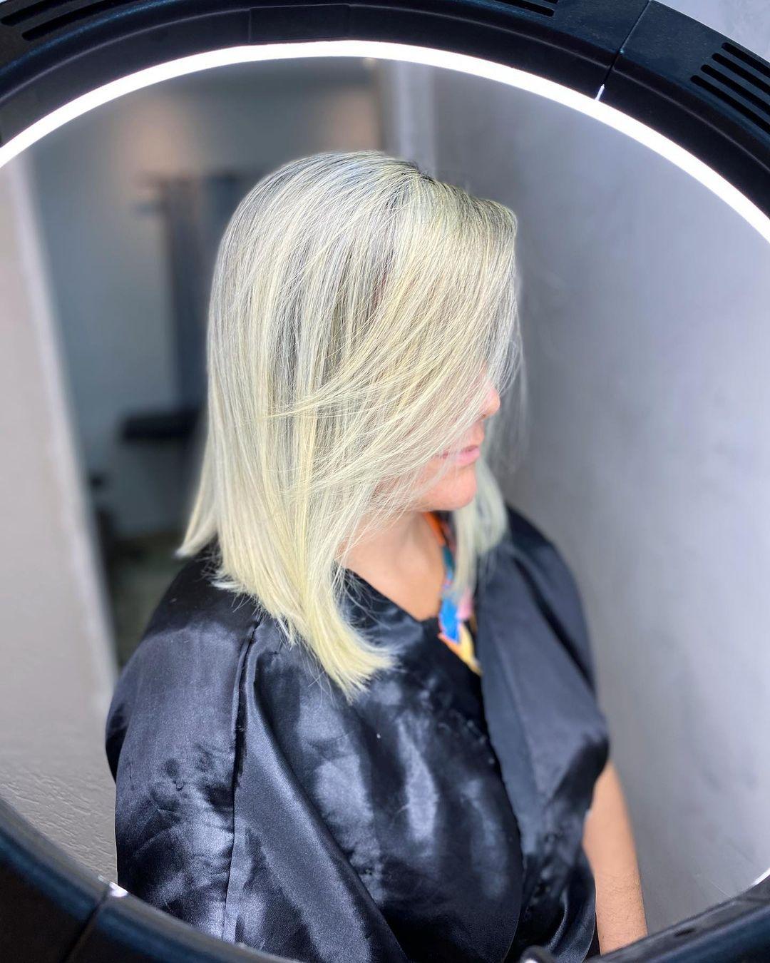 Medium haircut 9