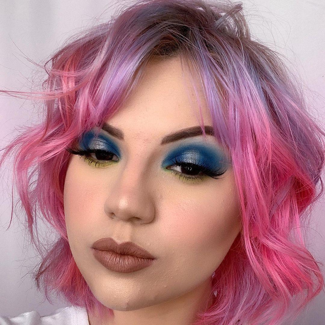 blue makeup 27