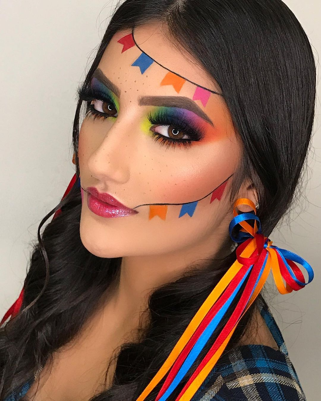 St. John's Woman Makeup 17
