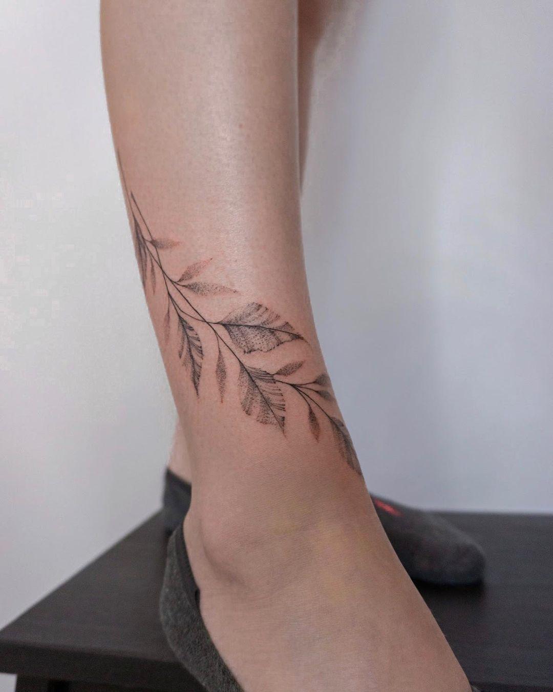 branch tattoo 13