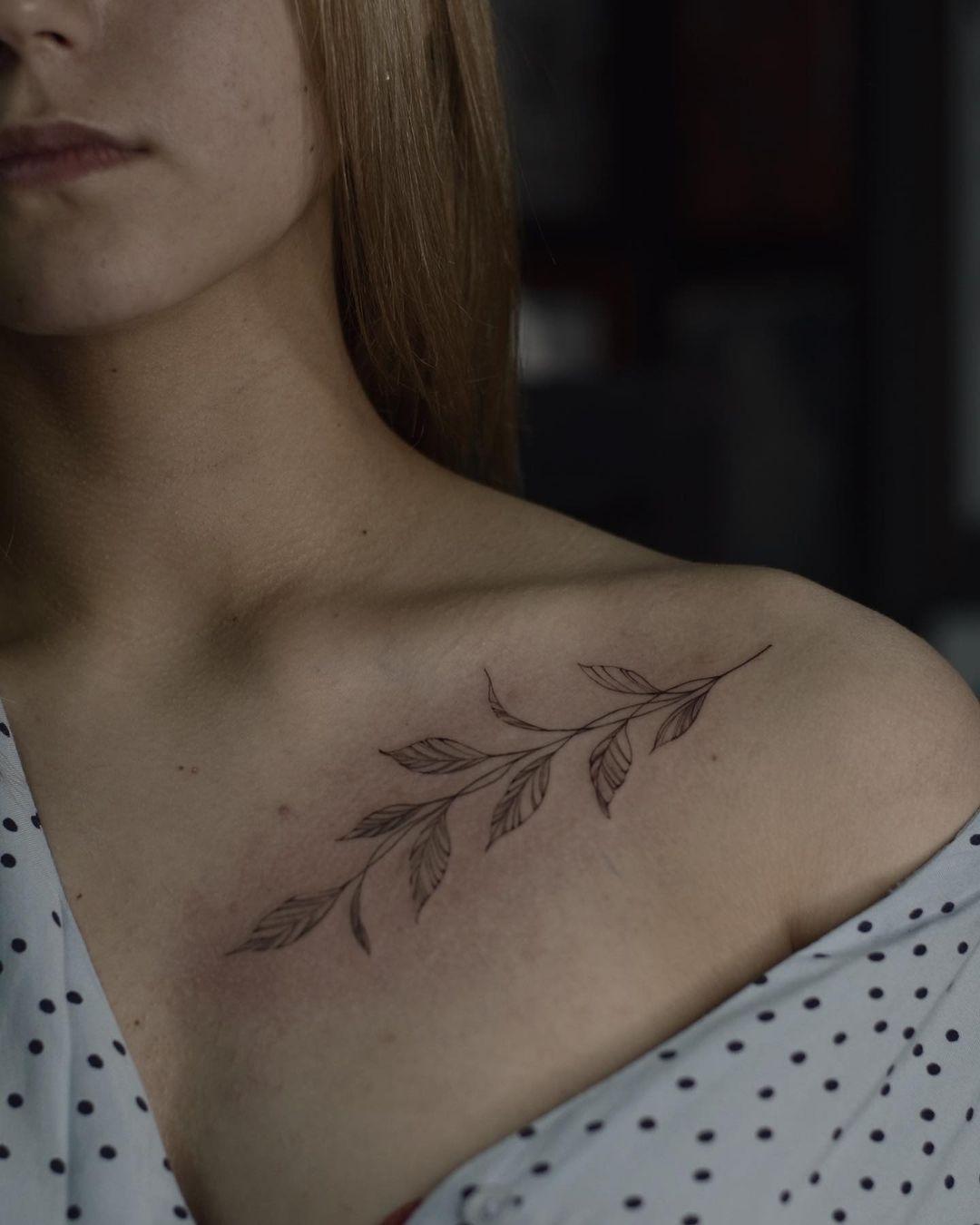 Branch Tattoo 20