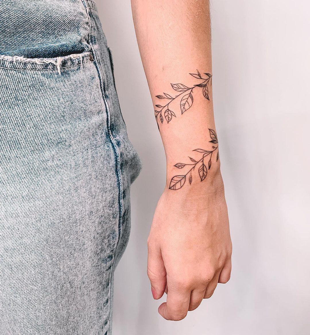 Branch tattoo 4