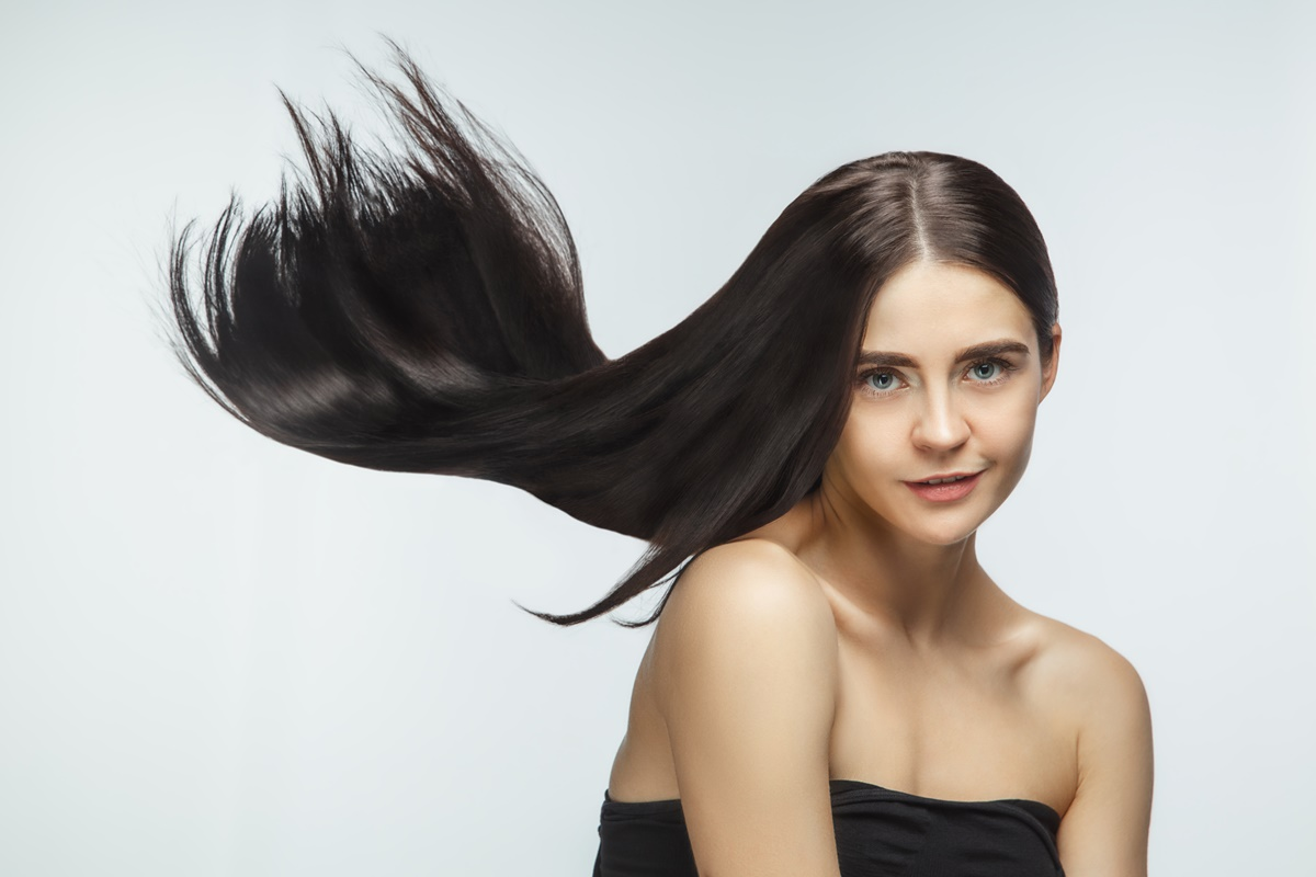 At-home hydration for straight hair