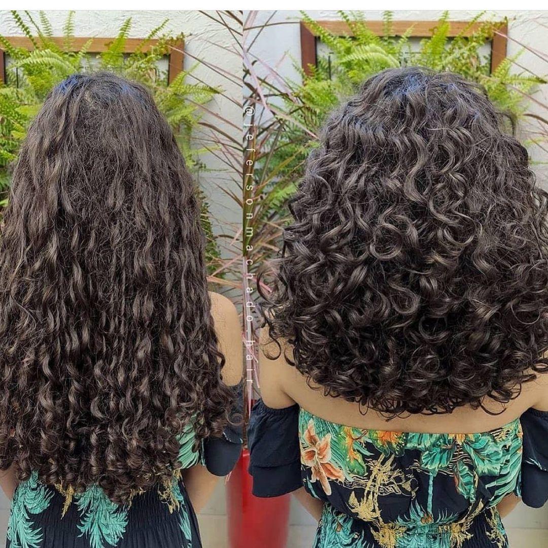 Haircut for voluminous hair