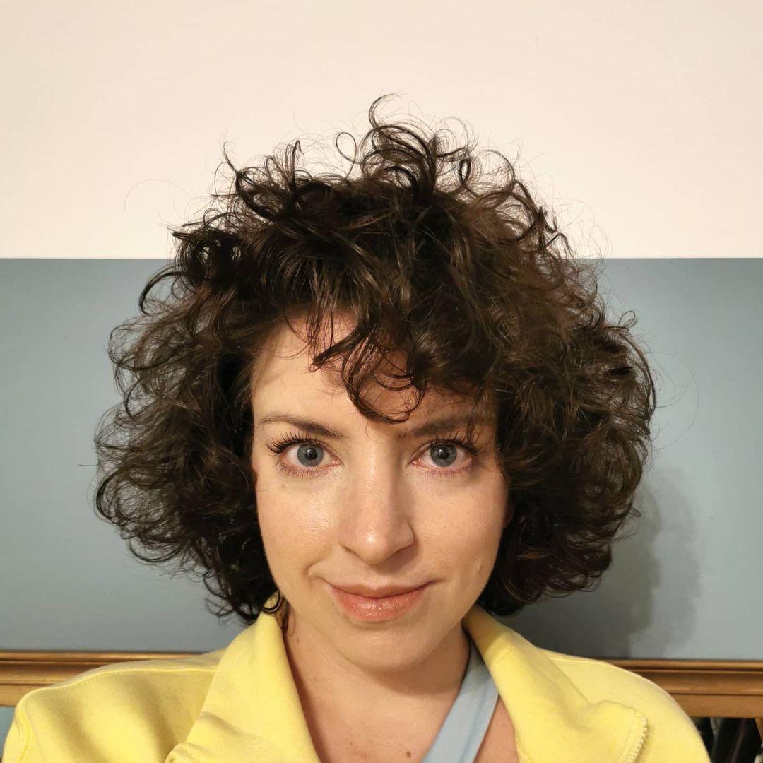short curly hair 13