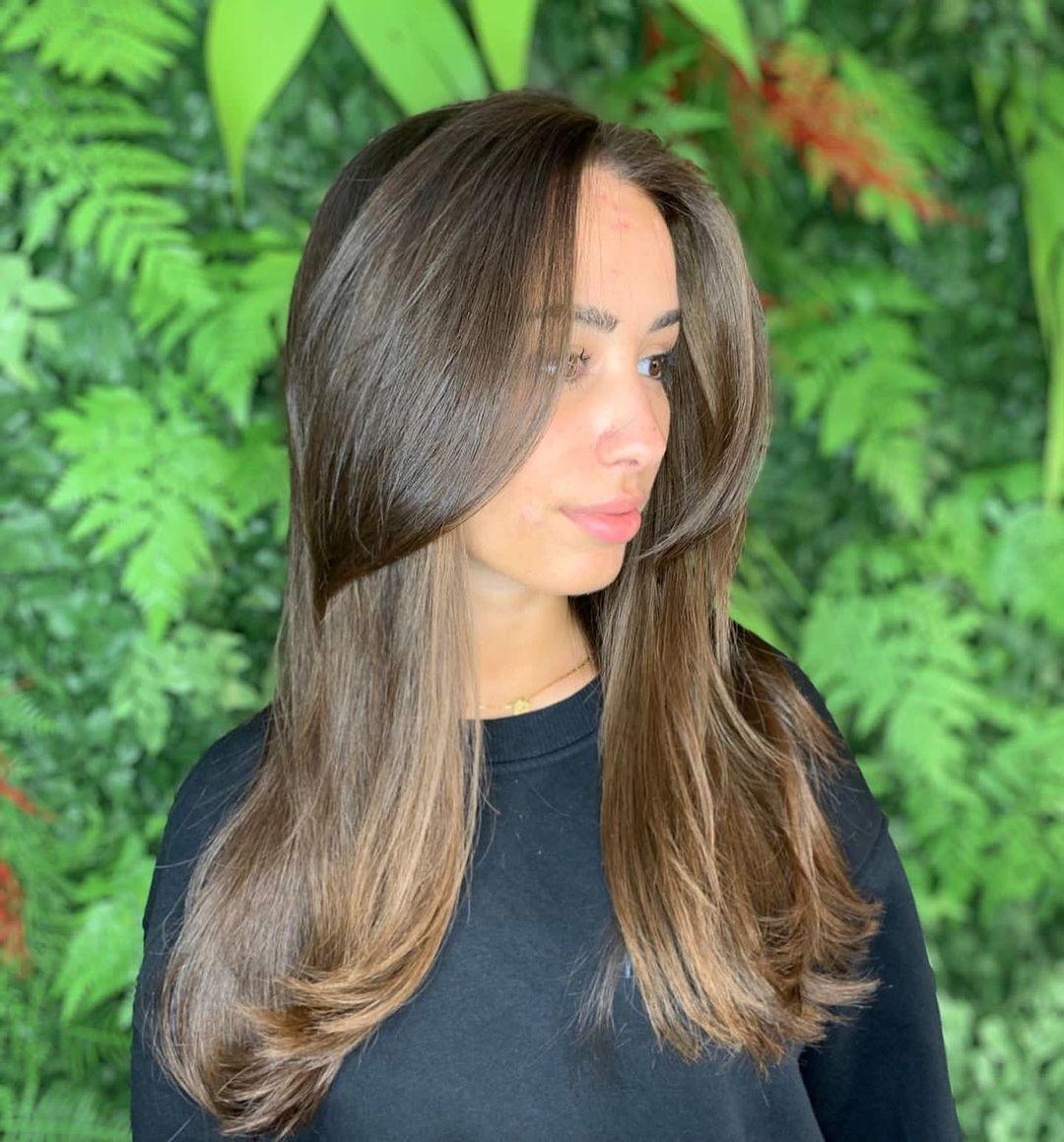 medium hair with bangs 23