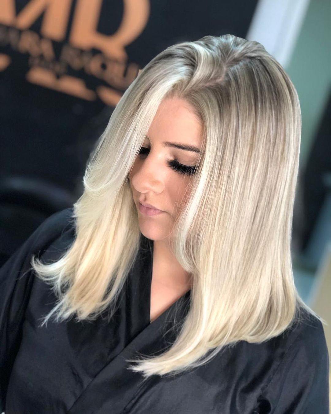 shiny brunette short hair 8
