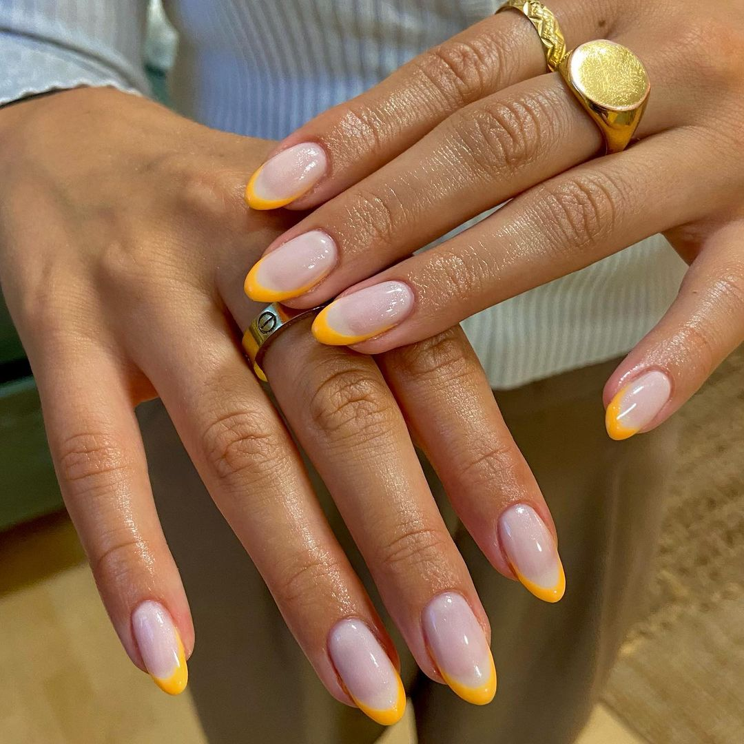 clear nails with francesinha 11