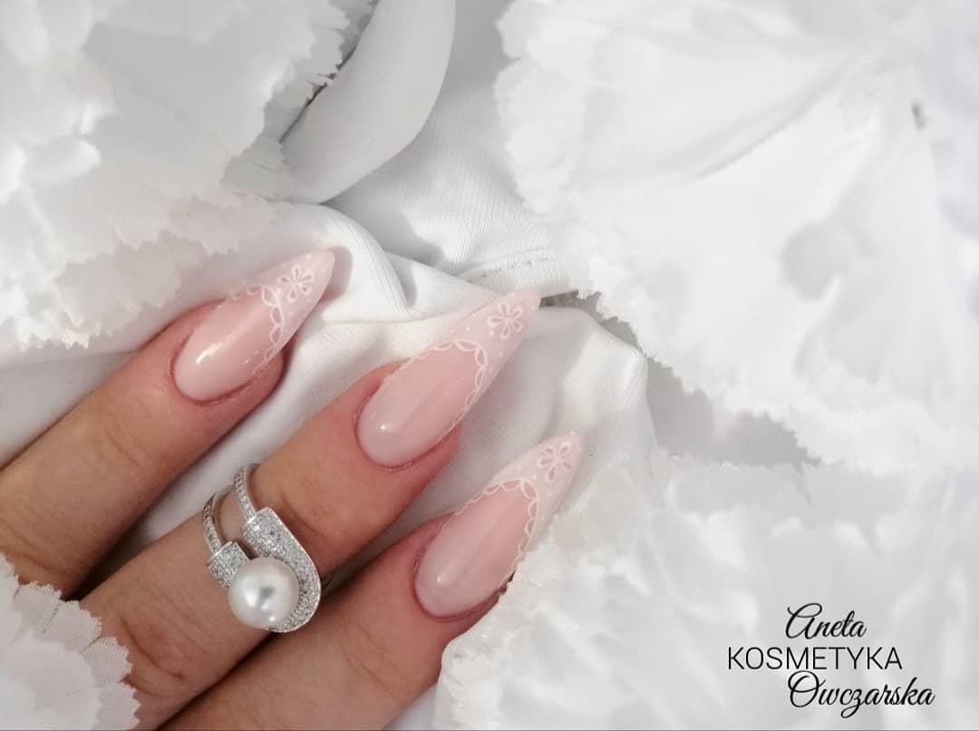clear nails with francesinha 12