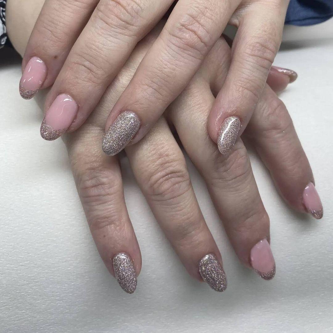 clear nails with francesinha 17