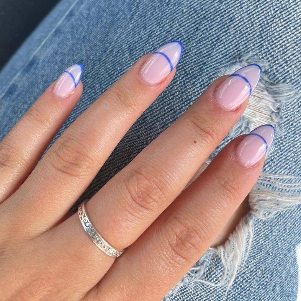 clear nails with francesinha 20