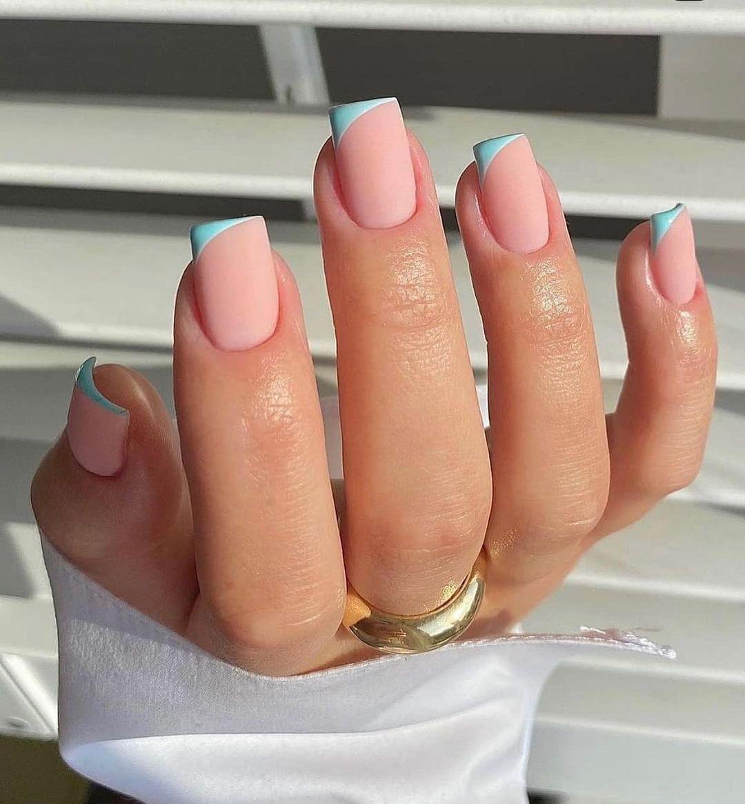 clear nails with francesinha 4
