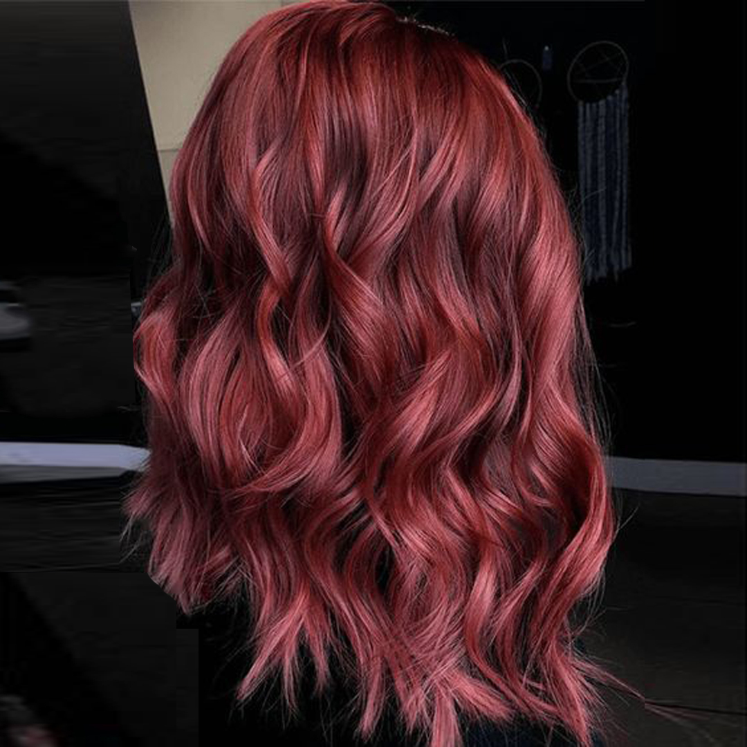 shade of red for brunettes 4